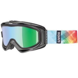 Lyžařské brýle Uvex G.GL 300 TAKE OFF, black mat/litemirror green (2126), Uvex