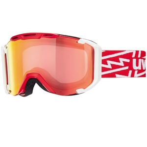 Lyžařské brýle Uvex SNOWSTRIKE VM, red-white/variomatic/litemirror red (3023), Uvex