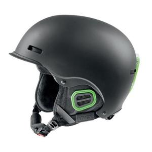 Lyžařská helma UVEX HLMT 5 PRO, black-green mat (S566146270*), Uvex