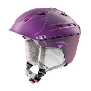 Lyžařská helma UVEX P2US WL, purple/pink mat (S566178900*), Uvex