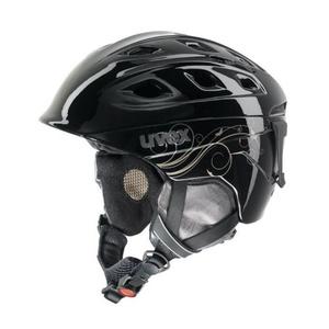 Lyžařská helma UVEX FUNRIDE 2 LADY, black/gold (S566150260*), Uvex