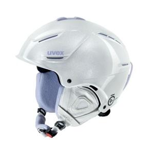 Lyžařská helma UVEX P1US PRO WL, white skyfall (S566179100*), Uvex