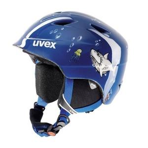 Lyžařská helma UVEX AIRWING 2, blue shark (S566132470*), Uvex