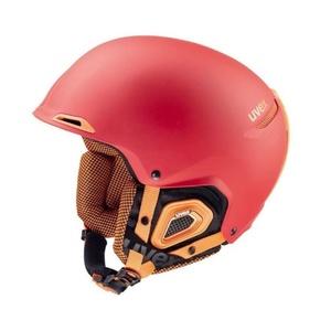Lyžařská helma UVEX UVEX JAKK+, red-orange mat (S566182380*), Uvex