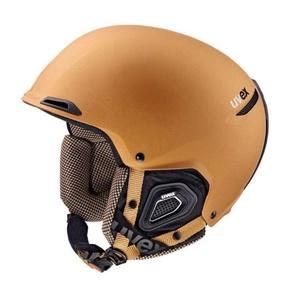 Lyžařská helma UVEX JAKK+, copper-black mat (S566182800*), Uvex