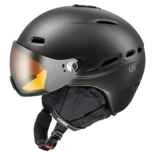 Lyžařská helma UVEX HLMT 200, black mat (S566176440*), Uvex