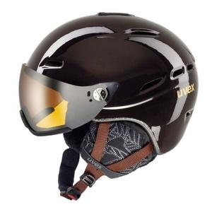 Lyžařská helma UVEX HLMT 200 WL, chocolate (S566183800*), Uvex