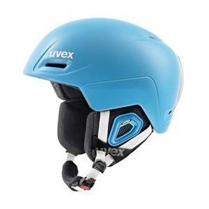Lyžařská helma UVEX JIMM, liteblue mat (S566206700*), Uvex