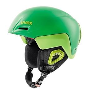 Lyžařská helma UVEX JIMM OCTO+, green-lemon mat (S566205320*), Uvex