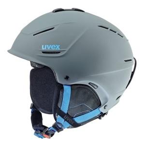 Lyžařská helma UVEX P1US, grey-blue mat (S566153540*), Uvex