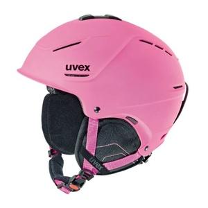 Lyžařská helma UVEX P1US, pink mat (S566153910*), Uvex
