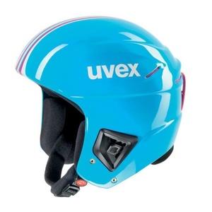 Lyžařská helma UVEX RACE +, cyan-pink (S566172400*), Uvex