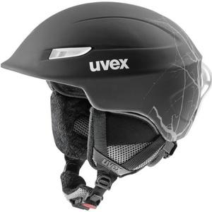 Lyžařská helma UVEX GAMMA, black flash mat (S566189210*), Uvex
