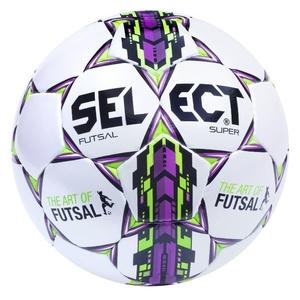 Futsalový míč Select FB Futsal Super bílo fialová, Select