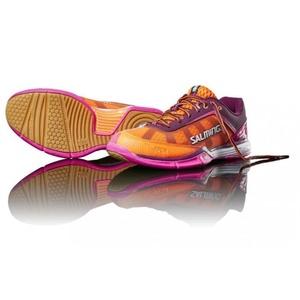 Boty Salming Viper 4 Women Purple/Orange, Salming