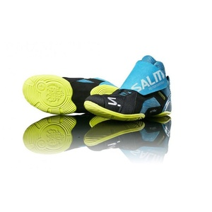 Boty Salming Slide 5 Goalie Shoe Cyan/Black, Salming