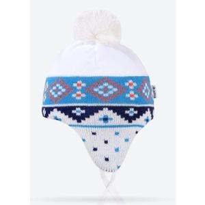 Dětská pletená čepice Kama B72 101, Kama