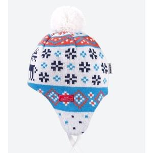 Dětská pletená čepice Kama BW19 101, Kama
