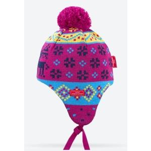 Dětská pletená čepice Kama BW19 114, Kama