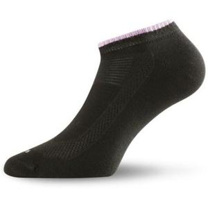 Dámské bavlněné ponožky Lasting Ara 906 černá, Lasting