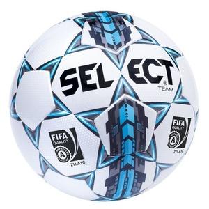 Fotbalový míč Select FB Team FIFA bílo modrá, Select