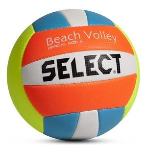 Volejbalový míč Select VB Beach Volley žluto modrá, Select