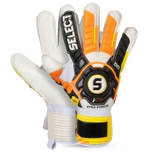 Brankářské rukavice Select Goalkeeper gloves 55 Xtra Force černo žlutá, Select