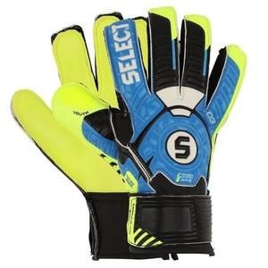 Brankářské rukavice Select 03 Youth modrá žlutá, Select