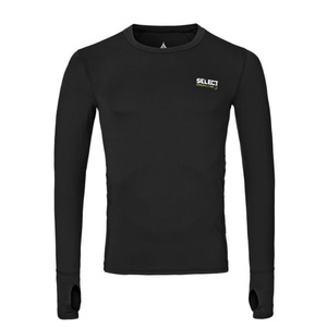 Kompresní triko Select Compression T-shirt L/S 6902 černá, Select