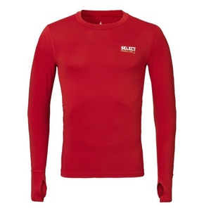 Kompresní triko Select Compression T-shirt L/S 6902 červená, Select