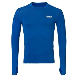 Kompresní triko Select Compression T-shirt L/S 6902 modrá, Select