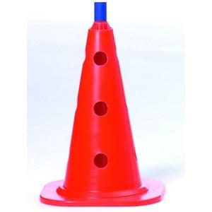 Značící kužel Select Marking cone s otovry červená, Select