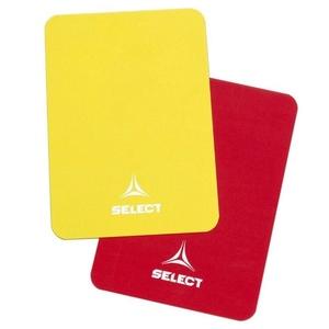 Karty pro rozhodčí Select Referee cards červeno žlutá, Select