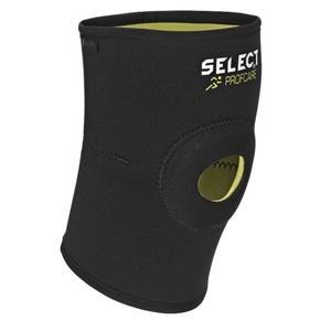 Bandáž kolene Select Knee support w/hole 6201 černá, Select