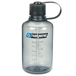 Láhev Nalgene Narrow Mouth 0,5l Gray 2078-2030, Nalgene