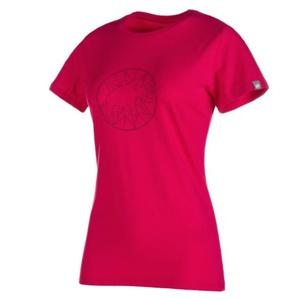 Dámské triko Mammut Logo T-Shirt Women magenta-merlot, Mammut