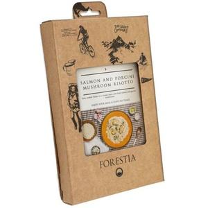 Jídlo Forestia Risotto s lososem a houbami porcini (s ohřívačem), Forestia