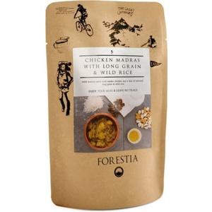 Jídlo Forestia Kuře Madras s dlouhozrnnou a divokou rýží s ohřívačem, Forestia