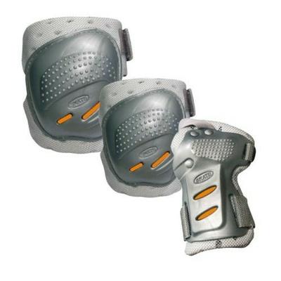 Chrániče Tempish Cool Max 3 silver/orange, Tempish