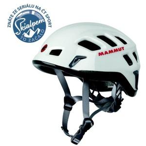 Horolezecká helma Mammut Rock Rider white-smoke velikost 2, Mammut