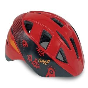 Dětská cyklistická přilba Spokey CHERUB červená, 48-54 cm, Spokey
