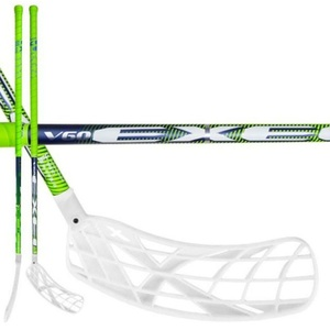 Florbalová hůl V60 2.9 green 98 ROUND X-blade MB, Exel