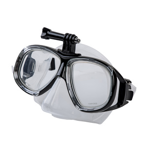 Maska na plavání Spokey TAMUK CAMERA s úchytem na kameru, Spokey
