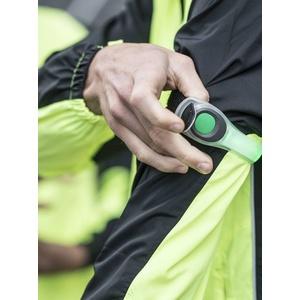 Bezpečnostní svítidlo Rogelli NEON LED s upevňovacím páskem, reflexní zelené 890.610., Rogelli