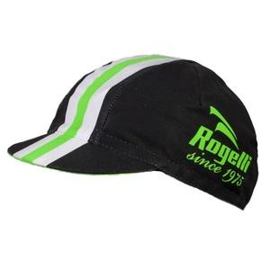 Sportovní kšiltovka Rogelli RETRO, černo-zelená 009.954., Rogelli