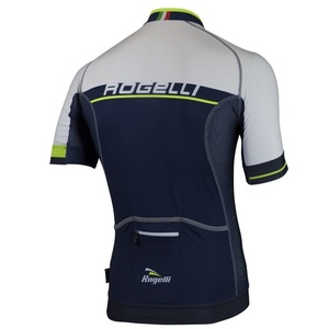 Extraprodyšný cyklistický dres Rogelli COMBATTIVO s krátkým rukávem, modro-bílý 001.045., Rogelli