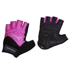 Dámské rukavice na kolo Rogelli DOLCE, růžové 010.613., Rogelli