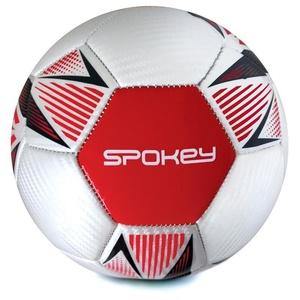 Spokey OVERACT fotbalový míč vel. 5, červený, Spokey