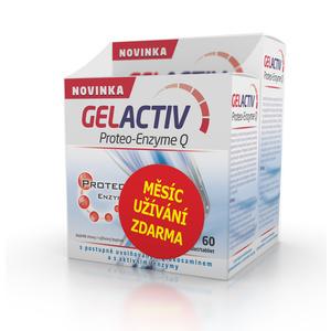 Salutem GelActiv Proteo-Enzyme Q 120+60 tbl. ZDARMA, Salutem
