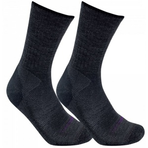 Ponožky LORPEN Merino Blend Light Hiker 2 Pack charcoal